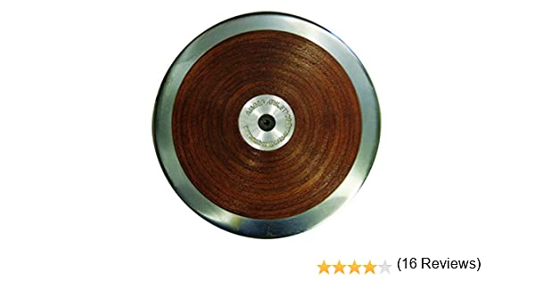 AAG Amazer Official Competition Wooden Track Throw Discus for Track and Field IAAF Certified
