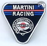# 1321Martini Racing Club Biker Jacke Eisen auf Sew auf gesticktes Patch
