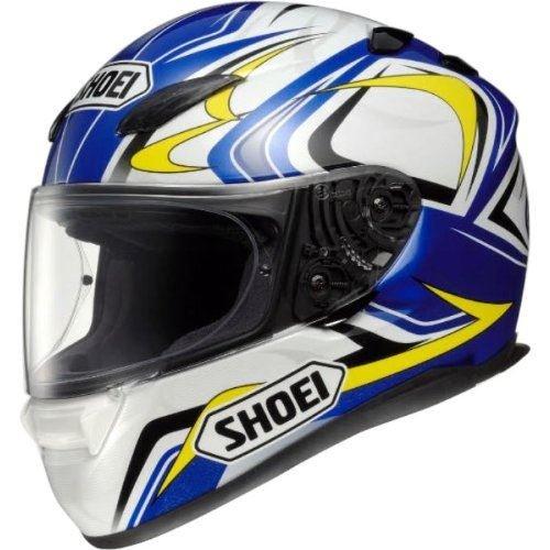 Shoei Casco Moto Xr1100 Tommy Hill Tc2 Blu (S, Blu)