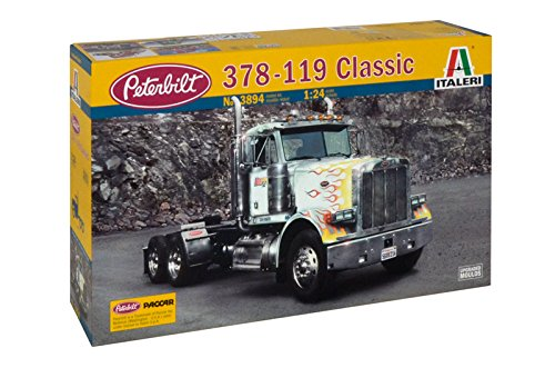 Italeri 3894 - classic peterbilt 378-119 model kit scala 1:24