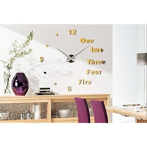 stile europeo e americano, Orologio da parete decorata soggiorno orologio