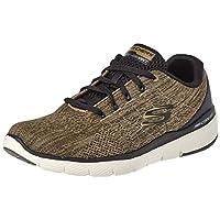 SKECHERS Flex Advantage 3.0, Men's Road Running Shoes, Green (Olive), 9.5 UK (44 EU)