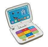 Fisher-Price CBW16 Lernspaß Laptop Lernspielzeug mit Liedern mitwachsenden Spielstufen, ab 6 Monaten deutschsprachig