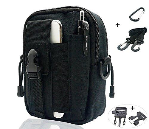 DE-006 Tactical Waist Pack Bolsa de usos Múltiples EDC Pouch Utility Sevenpicks Versión...