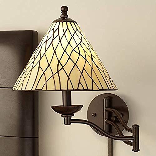 Bronze Glas Wandleuchte Rebe Einfache Persönlichkeit Plug-In-Stil Dekorative Beleuchtung -