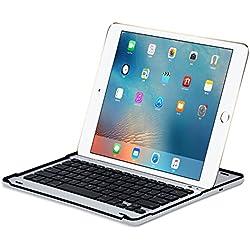 """Sharon housse de protection pour Apple iPad Pro 12,9""""(1.ª Gen. 2015 /2.ª Gen. 2017), Apple iPad Pro 12,9"""" (2017) LTE, Apple iPad Pro 12,9"""" (2017) pouces inclus clavier design français AZERTY"""