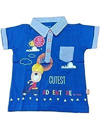 Bodycare Boys T-Shirt 18-24 Months (Sky Blue, 45)