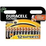 Duracell Duralock Plus Power Alkaline Battery AAA x12 LR03