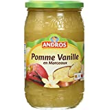 ANDROS Pomme Vanille Morceaux 740 g