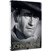 John Wayne: Río Bravo, Boinas Verdes, La Conquista Del Oeste, Ladrones De Trenes - Pack 4 Discos Steelbook