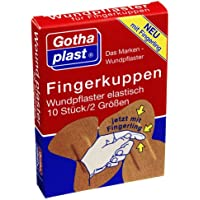 FINGERKUPPEN WUNDPFLASTER elast. m.Fingerling, 10 St preisvergleich bei billige-tabletten.eu