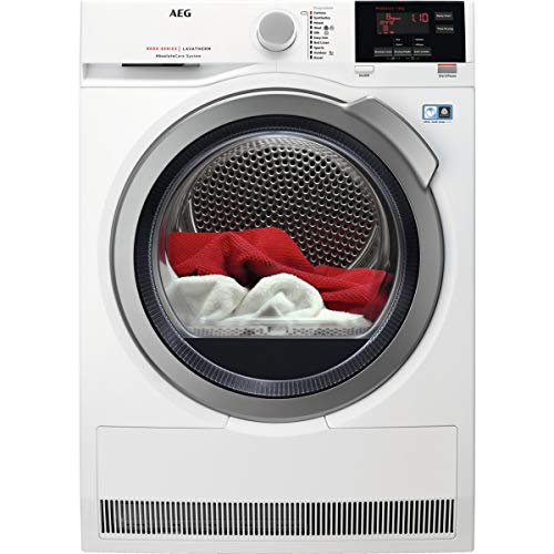 AEG 8000 Series T8DBG842R Heat Pump Tumble Dryer White