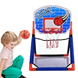 Giplar Tragbarer Kinder Basketballkorb, Mini Basketballset, Basketball-Backboard Ständer Hoop Set für Kinder