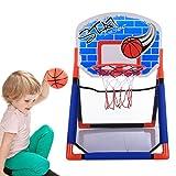 Basketballkorb, Anna Shop Kinder Zimmer Indoor Outdoor Basketballkorb Spielzeug Set für 2-15 Jahre Alt