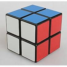 Topways® shengshou 2x2x2 mágico cubo 50 mm Inteligencia magic cube Juego de Puzzle cube (Shengshou negro)