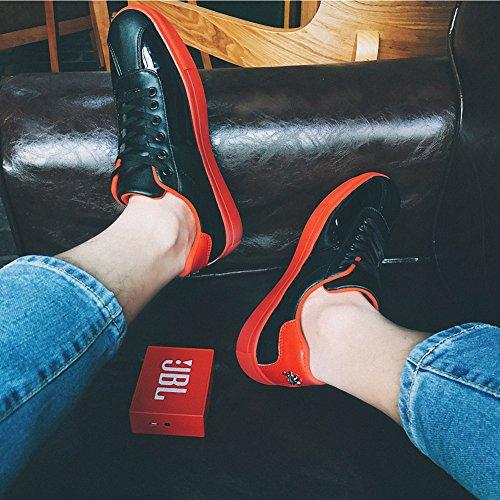 Ben Sports Scarpe da Skateboard uomo Scarpe Sportive da Skate Outdoor Indoor Pantofole Uomo Sneaker nero