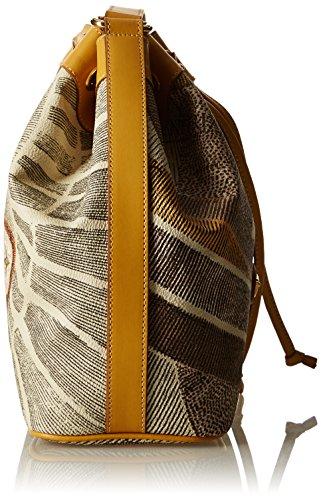 Gattinoni Gacpu0000105, Borsa a Secchiello Donna, 12x27x26 cm (W x H x L) Beige (Deserto)