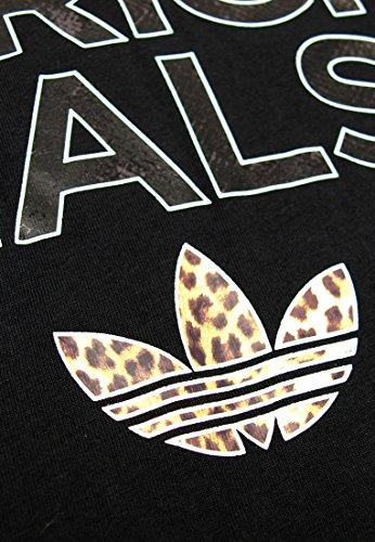 adidas Damen Oberbekleidung Originals Logo Essential Animal Tee Women Schwarz
