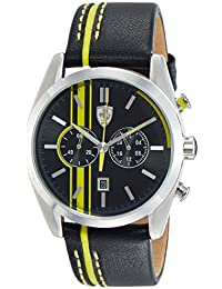 Ferrari Scuderia Homme Sport Chrono Analogique Dress Quartz reloj 0830235