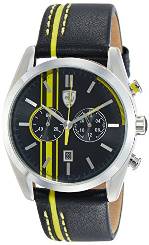 ISOWO SERVICES SL** Ferrari Herren Scuderia Sport Chrono Analog Dress Quartz Reloj 0830235