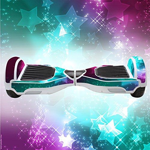 Elektro-Skateboards Elektro Scooter Self Balancing Scooter Aufkleber Elektroroller Roller Self Balance Board Haut – Selbststabilisierendes Fahrzeug E-Board Schutzfolie Sticker Aufkleber – Stars von GameXcel ® - 3