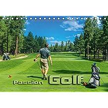 Passion Golf (Tischkalender 2018 DIN A5 quer): Stimmungsvolle Impressionen aus der Welt des Golfsports (Monatskalender, 14 Seiten )