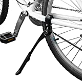 "BV Bicycle Alloy Adjustable Height Rear Kickstand, for Tube Mounting, for Bike Sizes 24"" - 28"""