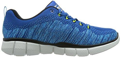 Skechers Equalizer 2.0 Perfect Game, Baskets Basses Homme Bleu - Bleu (Bllm)