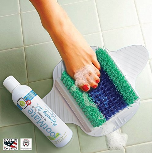 footmate-shower-foot-scrubber-rejuvenating-gel-system-exclusive-color-white-base-with-blue-teal-bris