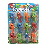 DCS Cartoon Copter Toy Helicopter 12PCS
