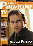 Telecharger Livres PARIS PANAME No 1394 du 28 04 2007 VINCENT PEREZ ANIMAUX DOMICILIATION EMPLOI AUTO MOTO IMMOBILIER (PDF,EPUB,MOBI) gratuits en Francaise
