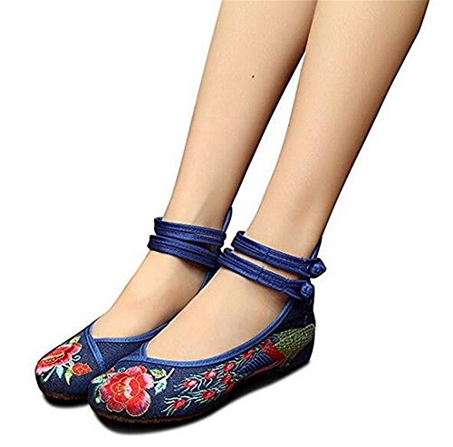 minetom-womens-vintage-colorful-folk-style-flower-cloth-embroidered-low-wedge-shoes-ballet-mary-jane