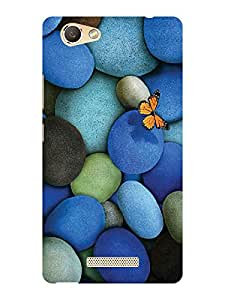 TREECASE Designer Printed Soft Silicone Back Case Cover For Gionee S Plus