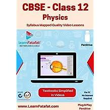 CBSE Class 12 Physics Video Course (PenDrive)
