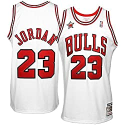 NBA Mitchell & Ness Michael Jordan Chicago Bulls 1998