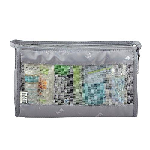 Boîte de rangement cosmétique sac cosmétique cosmétiques plein air voyage mode bain organisateur de maquillage maquillage stockage de brosse de maquillage porte-rouge à lèvres sac portable imperméable femme sac de toilette pour hommes-A