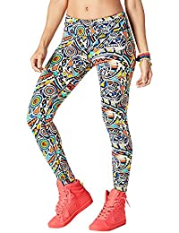 Zumba Fitness Legging pour Femme Beach Baller Perfect Ankle. f5f49f2f59f