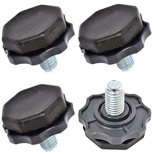 spares2go verstellbar Fuß, Nivellierung Fuß für Beko Waschmaschine (4Stück) Fitment list B