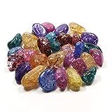 crackle Quartz Tumble Stones 50gram