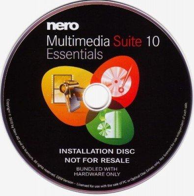Nero Multimedia Suite 10 Essential multilingual OEM Oem Audio