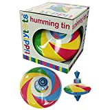 House of Marbles Rainbow Tin Spinning Humming Top