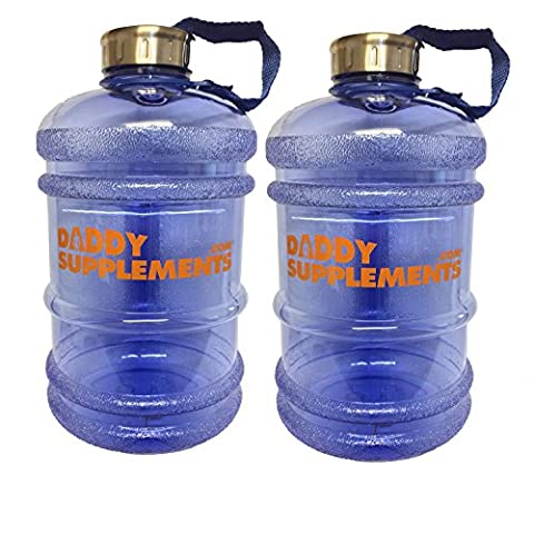 2 Daddy Supplements Big Bottle Jug 2.2l Half Gallon Leak
