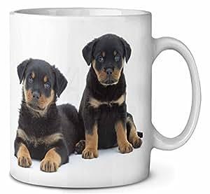 Chiots rottweiler Tasse de café anniversaire cadeau de Noël