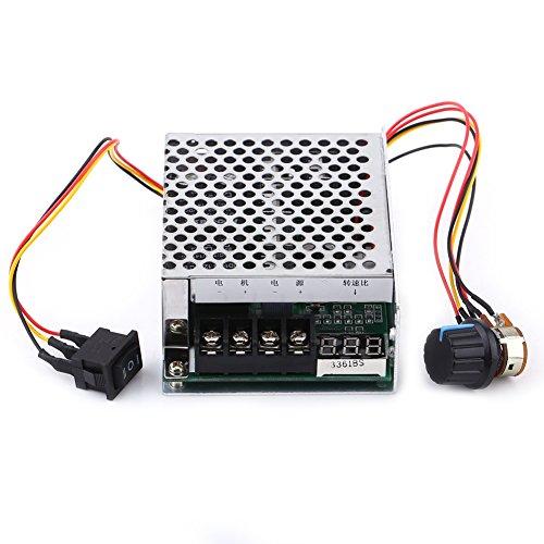 DC-Motordrehzahlregler umkehrbar mit Digitalanzeige Reversible Schalter für DC-Motor-Treiber-Modul 12V 24V 36V - Ändern Motor