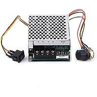 10V-55V 40A Regulador de Velocidad del Motor de CC Regulador Inversor de Velocidad con exhibición de Digitaces Interruptor Reversible de Motor