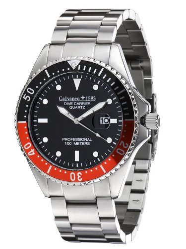 Calvaneo Dive Carrier Black-Red