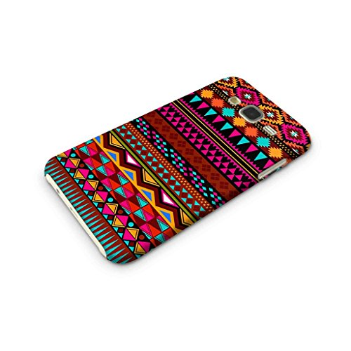 Cover Affair Aztec Designer Printed Slim Lightweight Back Cover for Samsung Galaxy J2 2015(Pink, White, Blue, Black and Other)