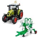 GizmoVine Trattore Giocattolo Regali di Raccolta di Trattori Agricoli per Bambini Ragazzi