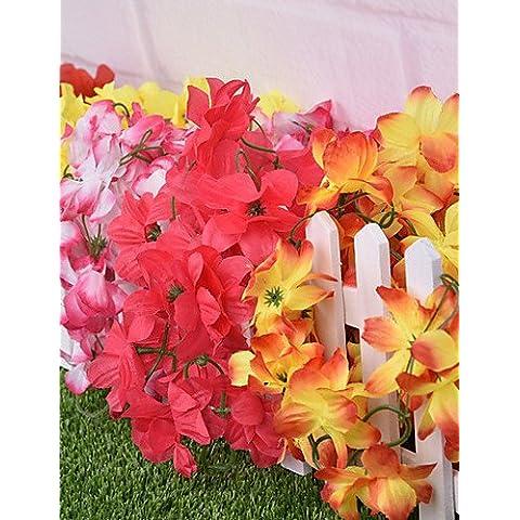 Home decorazione di fiori artificiali, seta Azalea