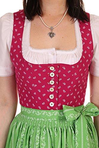 Hammerschmid Damen Dirndl lang Pillersee 27009 Pink